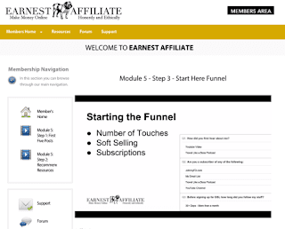 Earnest Affiliate Make Money Online, Honestly and Ethically
