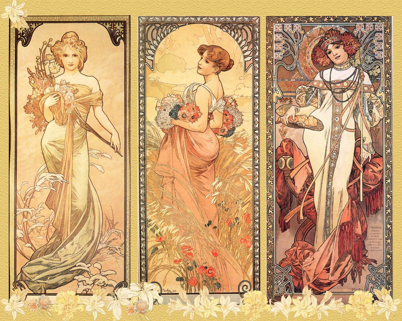 Dans la t te alphonse mucha for Art et decoration 1939