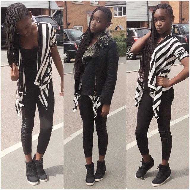 Mercy Aigbe And Her Kids On Vacation In The Uk Photos