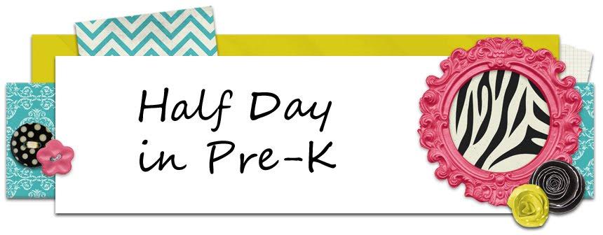 Half Day in Pre K