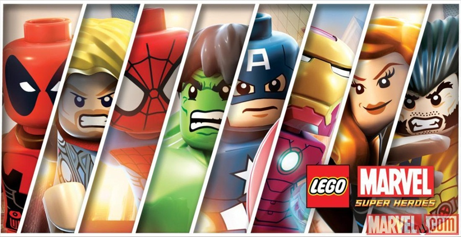 LEGO Marvel Super Heroes PC Download Poster