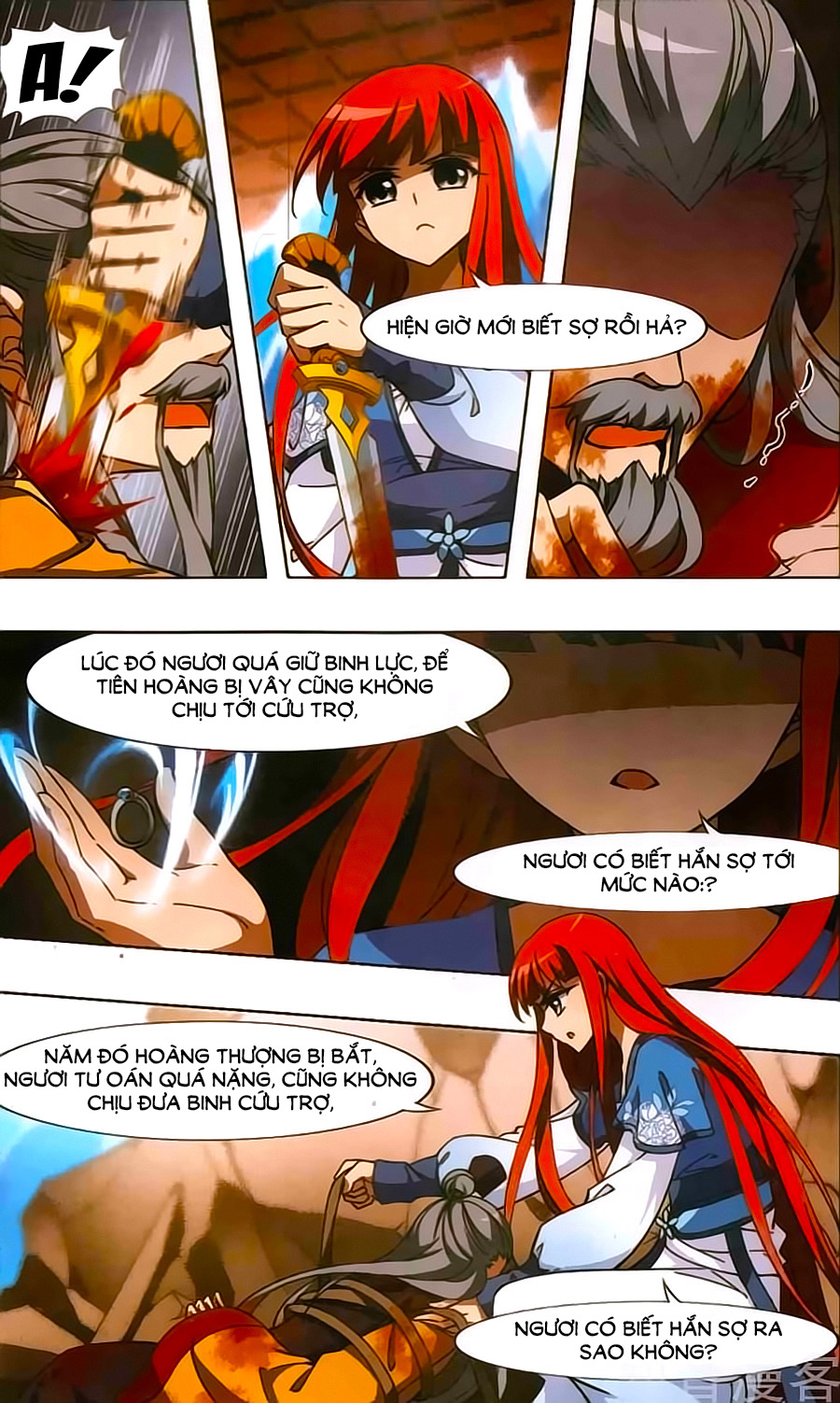 Phượng Nghịch Thiên Hạ – Chap 126