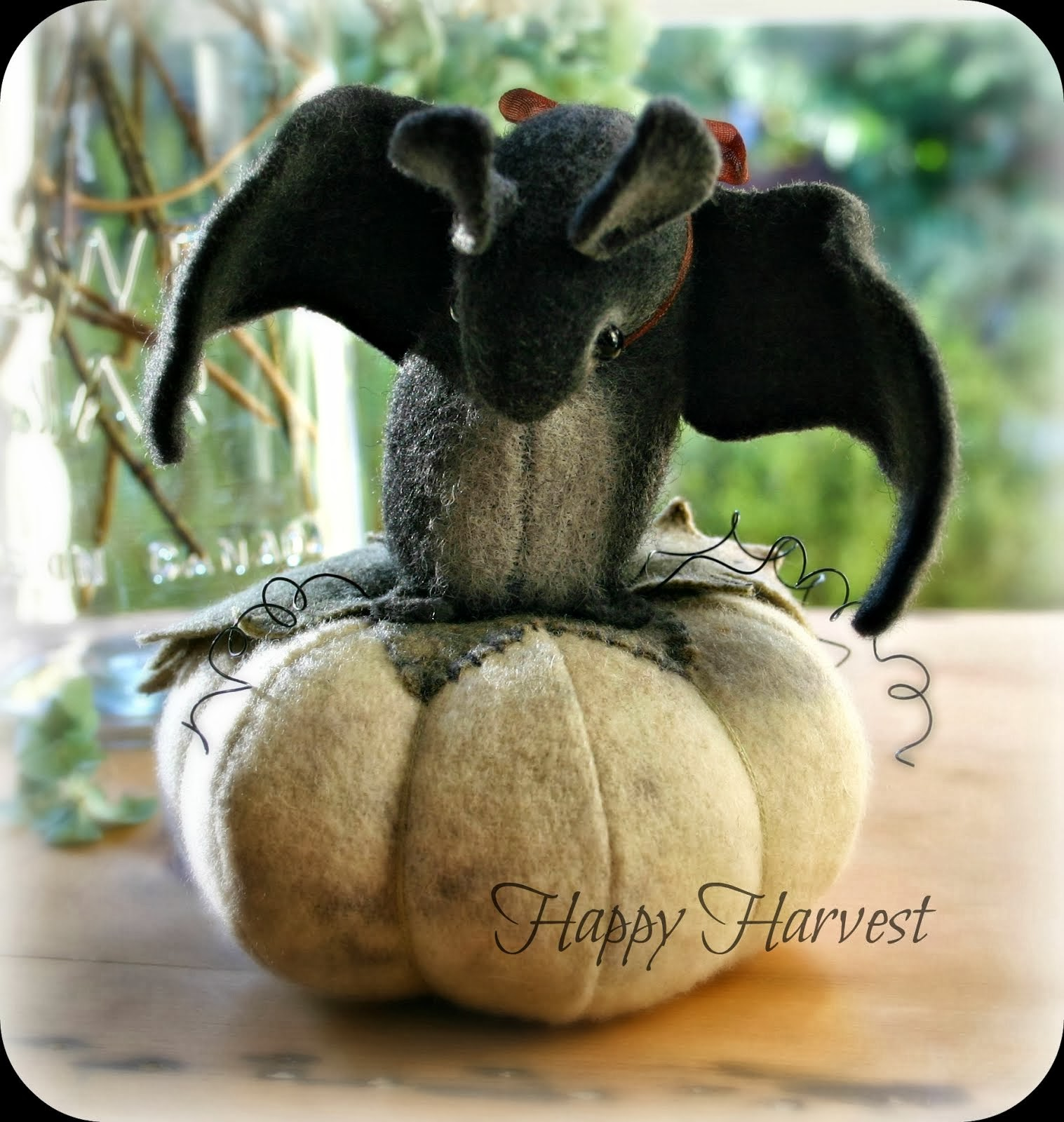 Happy Harvest Bat