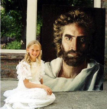 12-Year-Old Prodigy Raised Atheist Paints Visions of God and Heaven