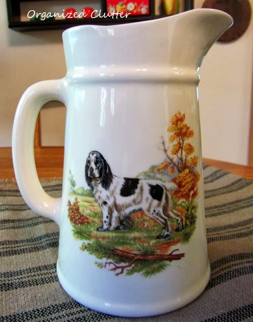 Spaniel pitcher