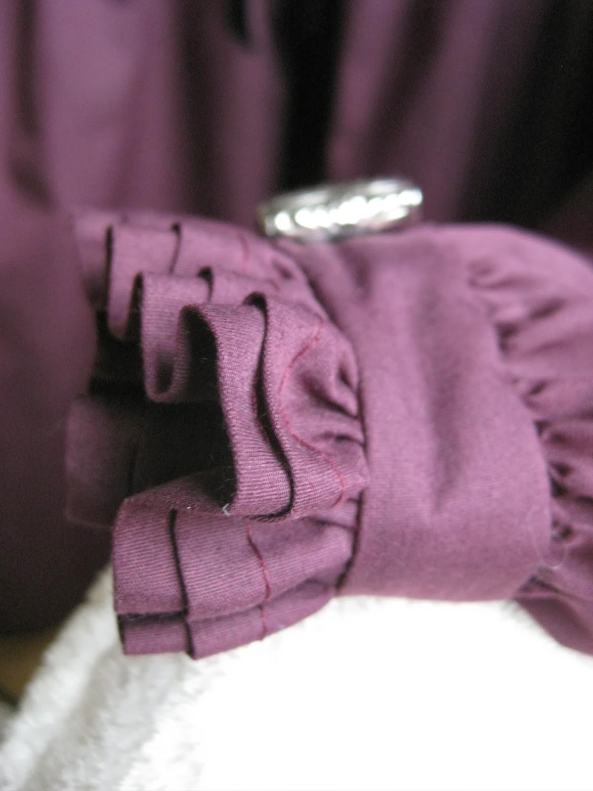 Simplicity 4059 Shirt A Tyndall Wrist Ruffle Detail