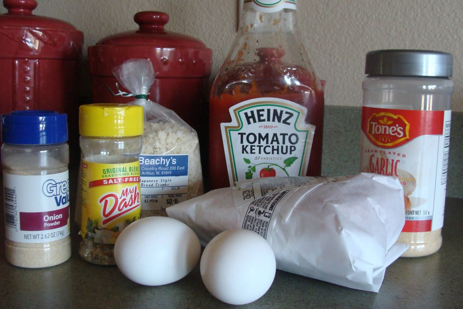 Kristi's Recipe Box Meatloaf with Panko Bread Crumbs