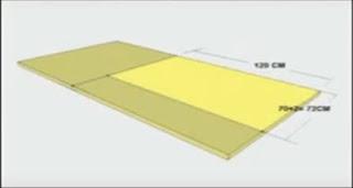 Cara Membuat Sofa - Pemasangan Busa