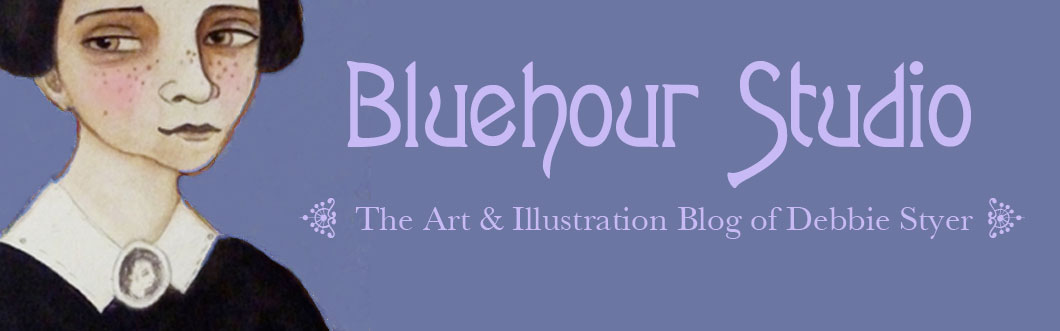 Bluehour Studio The Art and Illustration of Debbie Styer