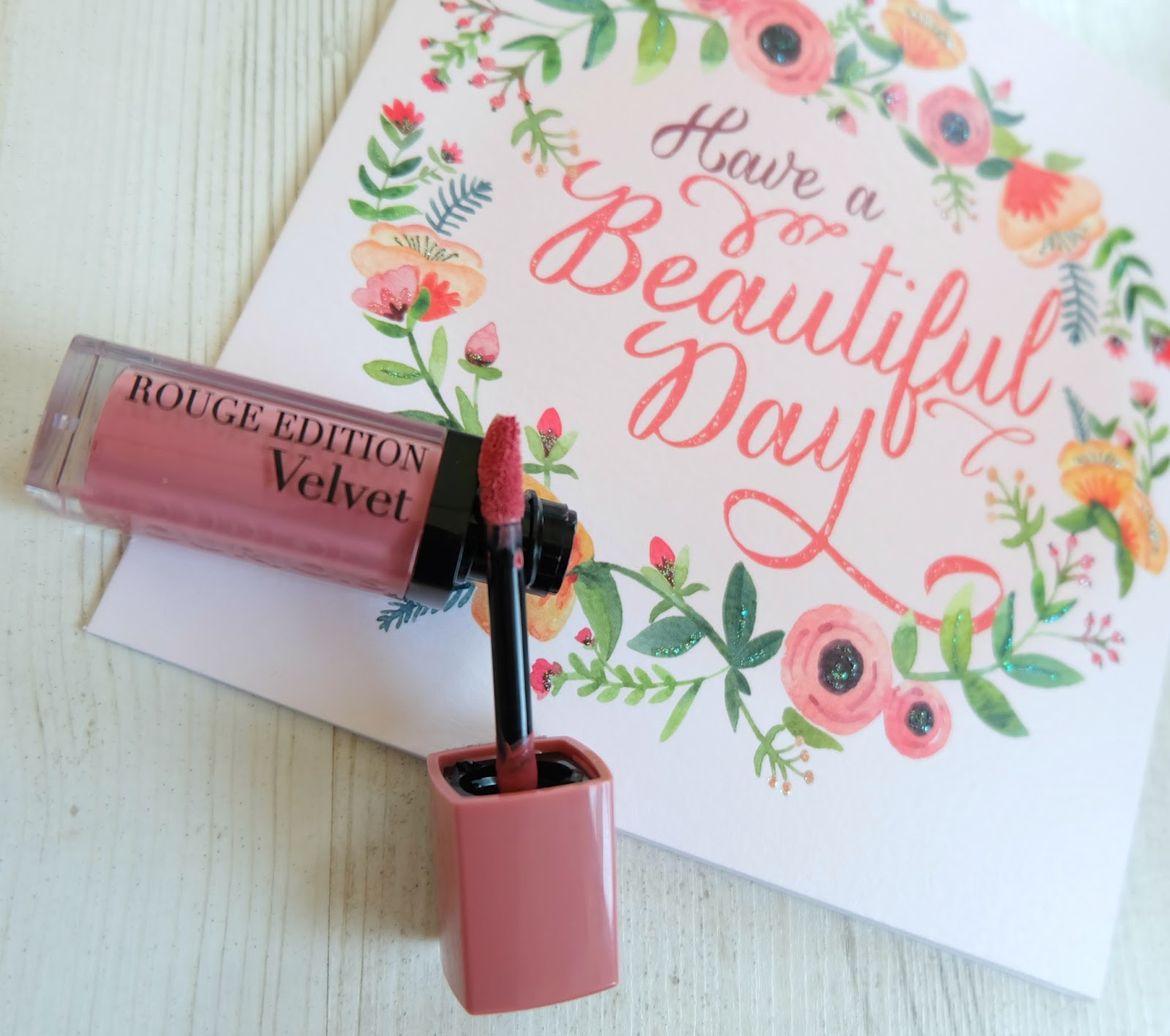 Bourjois Rouge Edition Velvet Lipstick 'Don't Pink Of It' Review