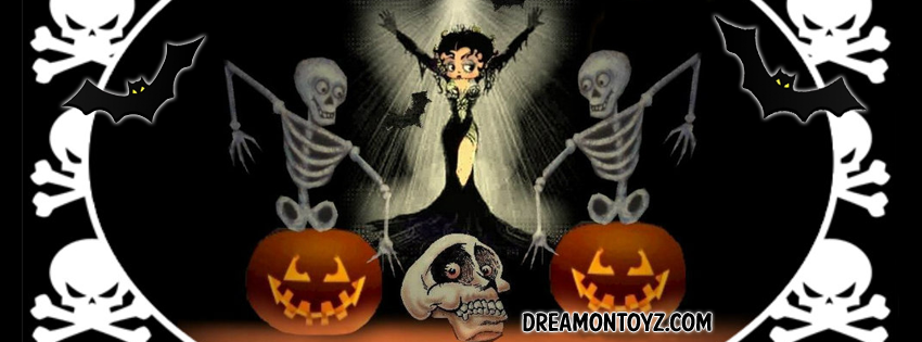 Betty Boop Facebook Timeline Covers : Betty Boop Halloween ...