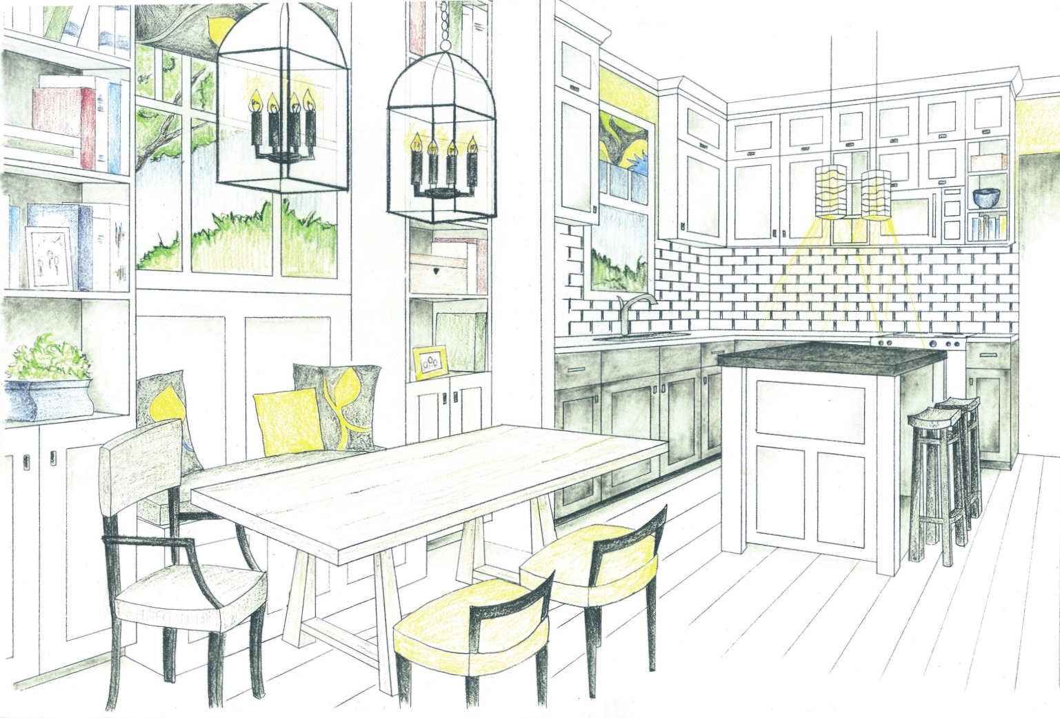 Bronwyn designs i love my job for 3d drawing kitchen