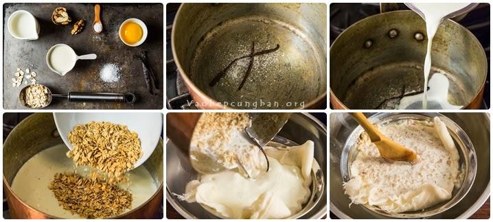 Làm kem từ bột Yến mạch siêu ngon 1