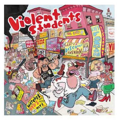 Violent Students-S/T & Street Banger E.P.