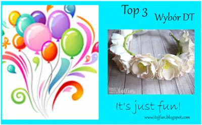 Top 3 wyzwania #18 Kwiaty