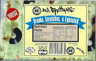 DJ Rhettmatic - Breaks,Scratches & Eggsalad