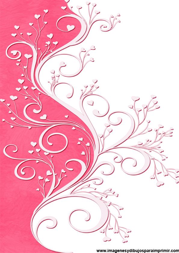 Papel de color rosa para imprimir - Papel de pared de rayas ...