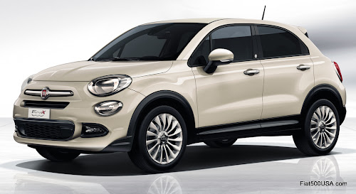 Fiat 500X Lounge Opening Edition