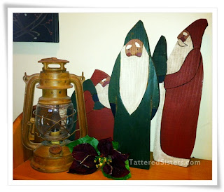 Folk Art Santas