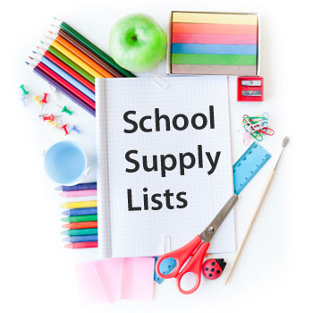 Image result for supply list high school