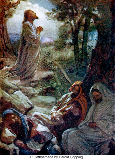Into the king 39 s garden jesus 39 prayer of submission at gethsemane Jesus praying in the garden of gethsemane