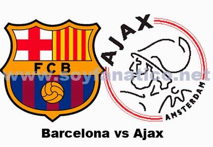Champions, Barcelona, Ajax, envivo