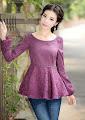 Two Tone Lace Midi Dress