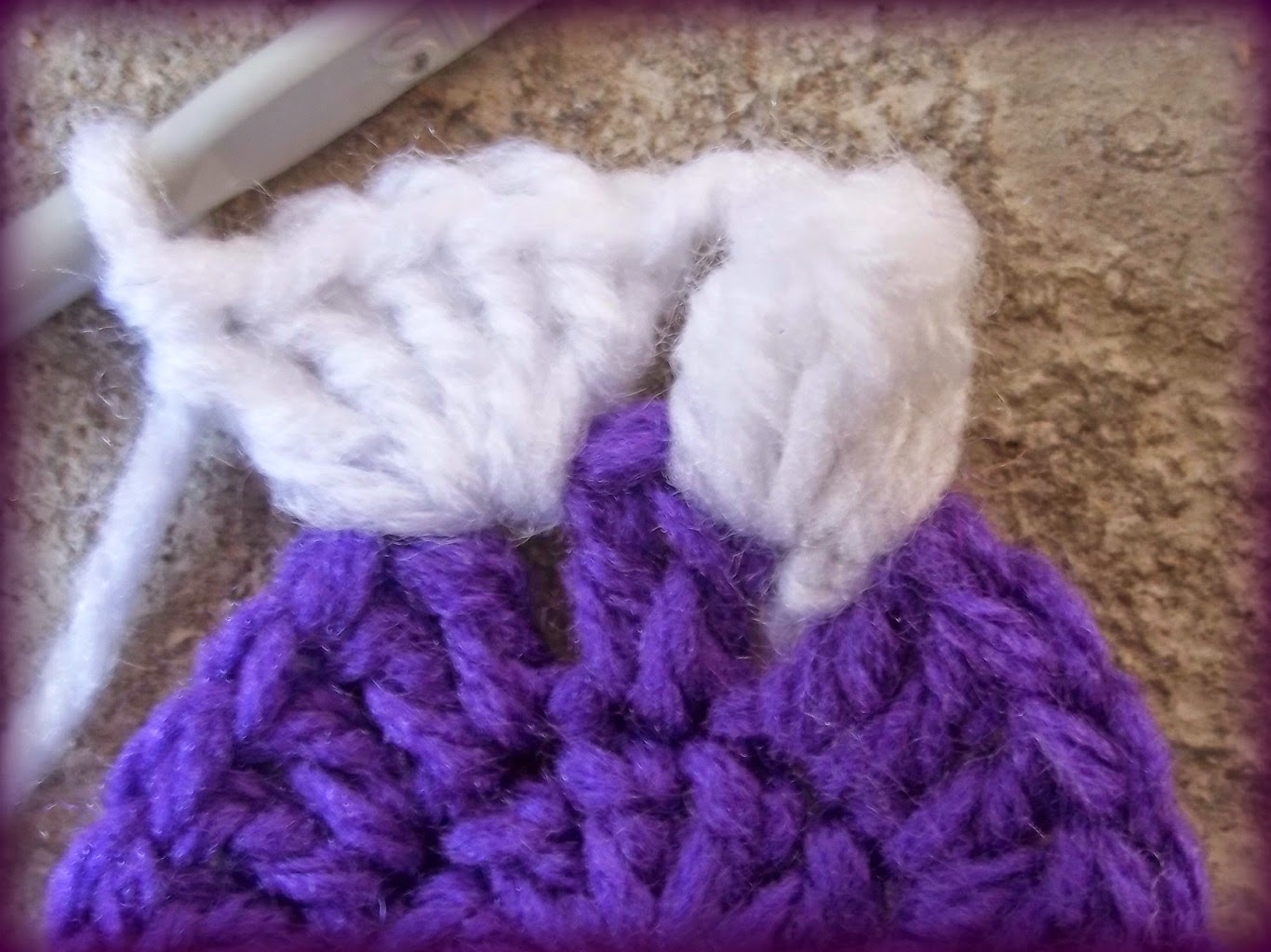NOTE : A Popcorn Stitch is formed by crocheting 5dc then removing the ...
