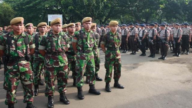 TNI dan Polri Berlatih Bersama untuk Cegah Konflik