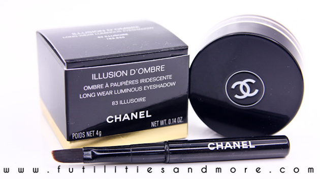 Chanel Illusion d'Ombre, Illusoire – Review, swatch and test