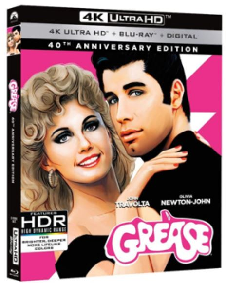 GREASE 40ème anniversaire en précommande jusqu'au 24 Avril 2018