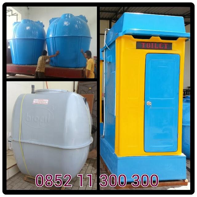 produk asli septic tank biofil, toilet portable fiberglass, biotank, induro internasional