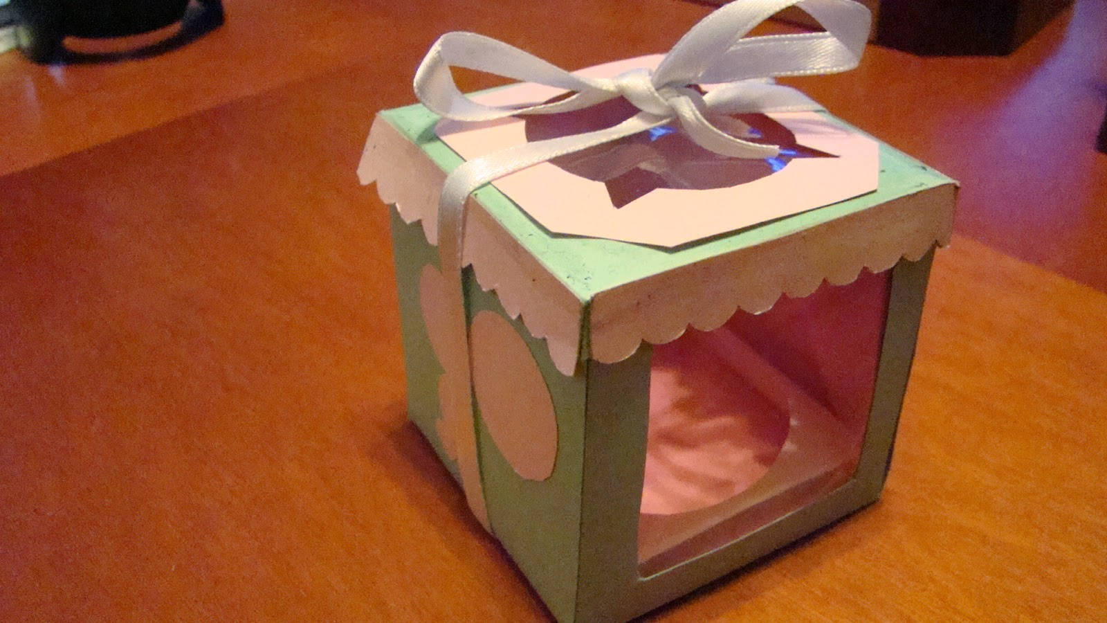 Con la masa en las manos: Cajita individual de Cupcakes