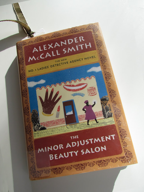 Alexander McCall Smith....author of No. 1 Ladies' Detective Agency novels