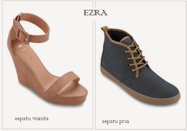 Sepatu Ezra, Ezra Tampil Menarik Dan Up To Date - MizTia Respect