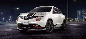 NISSAN JUKE RX REVOLT WHITE BLACK STRIPPING