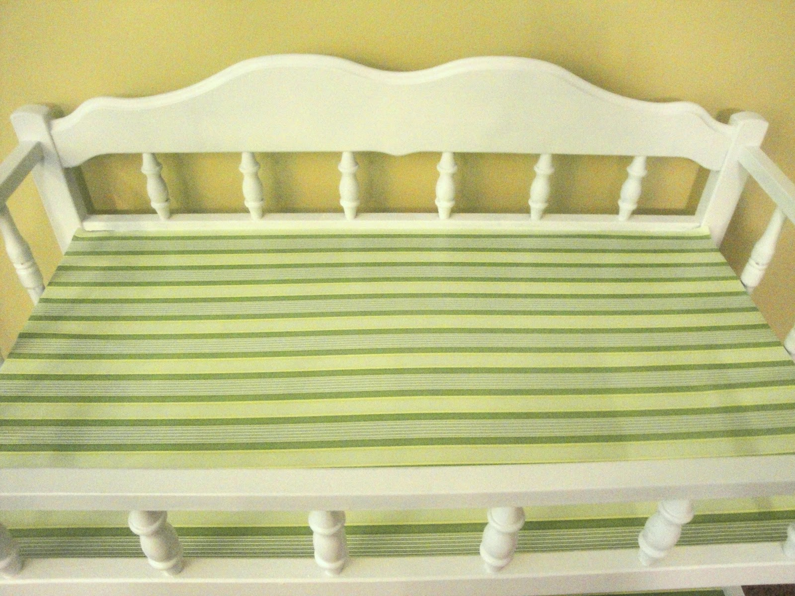 Refinishing A Baby Changing Table