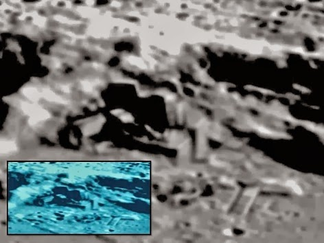 astronauts find structures on moon - photo #38