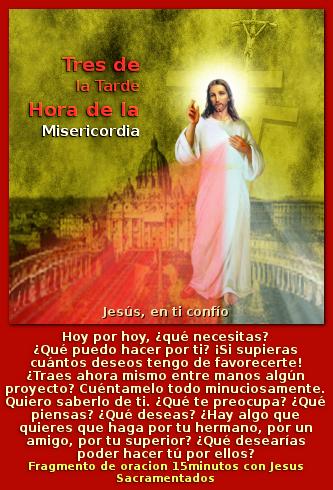 pidele mucho a  jesus misericordia te lo dara si es para tu salvacion eterna