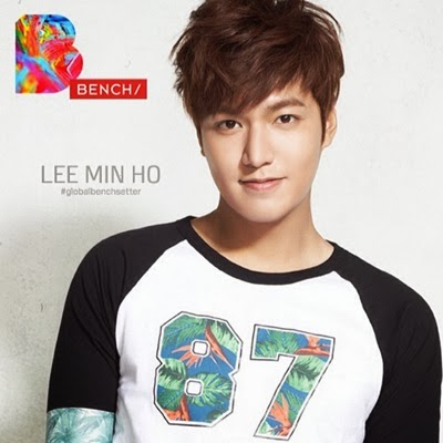 Lee Min Ho Returns to Manila this March 2014 courtesy of Bench