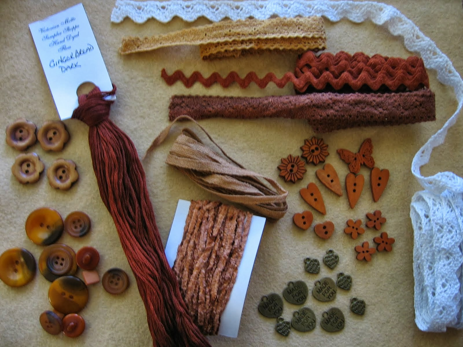 Gingerbread Trims Grab Bag