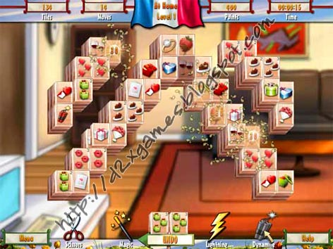 Free Download Games - Paris Mahjong