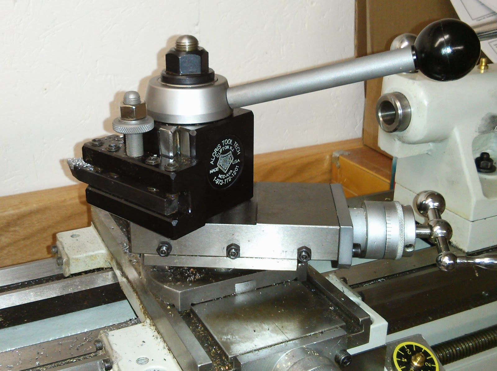 how to install quick change tool post on lathe
