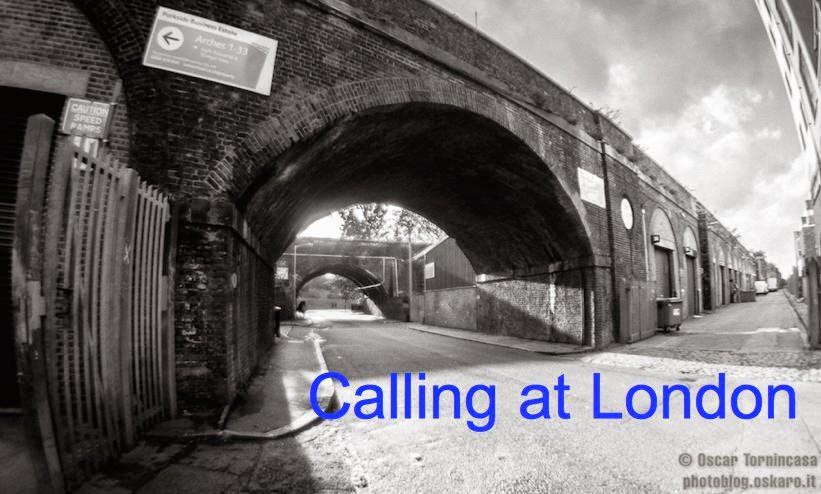 Calling at London