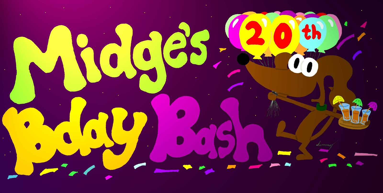 Midge's 20th Bday Bash