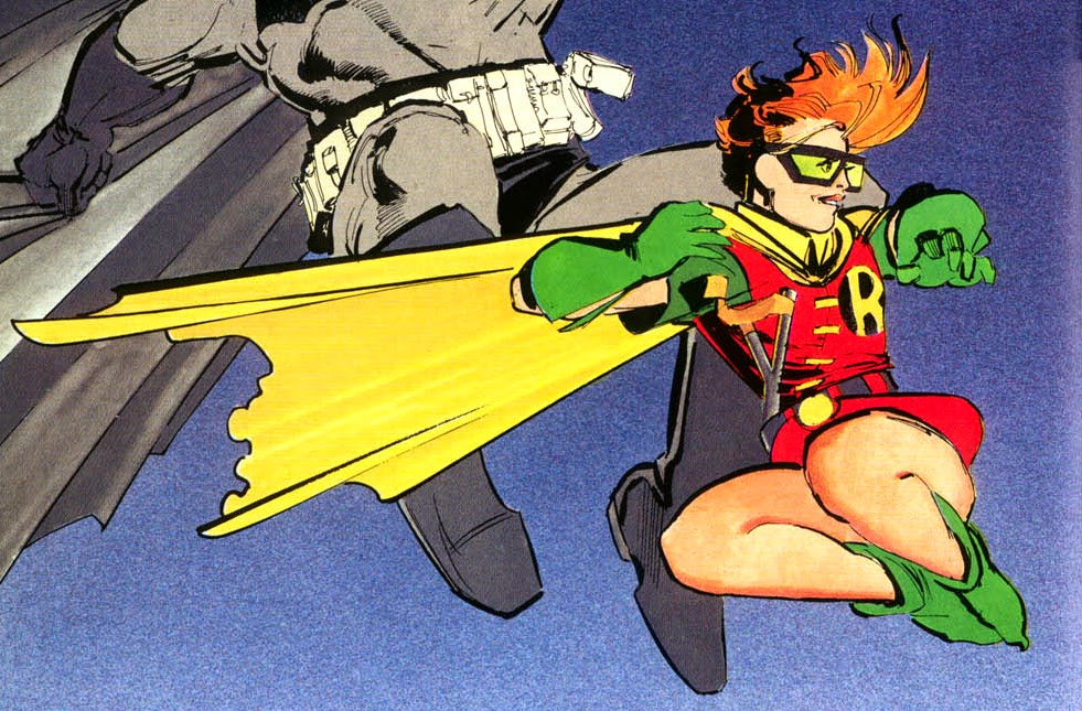 carrie kelley the dark knight returns frank miller new 52 robin batman v superman dawn of justice WB DC