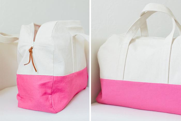 Pattern Travel Bag 38