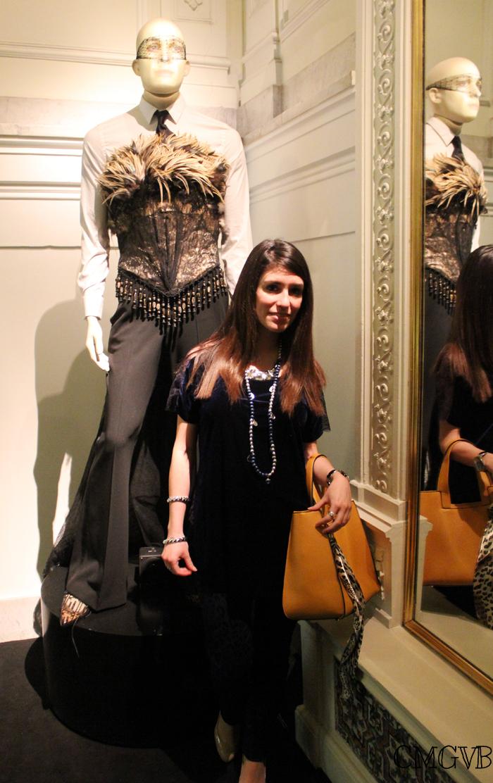 diana dazzling, fashion blogger, fashion blog,  cmgvb, como me gusta vivir bien, dazzling, luxury, Jean Paul Gaultier, Fundacion Mapfre, Madrid, exposición, Pizza Jardin