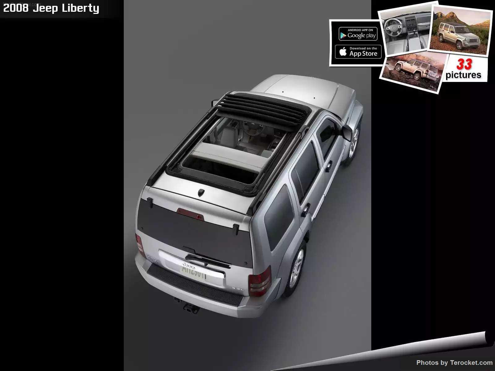 Hình ảnh xe ô tô Jeep Liberty 2008 & nội ngoại thất