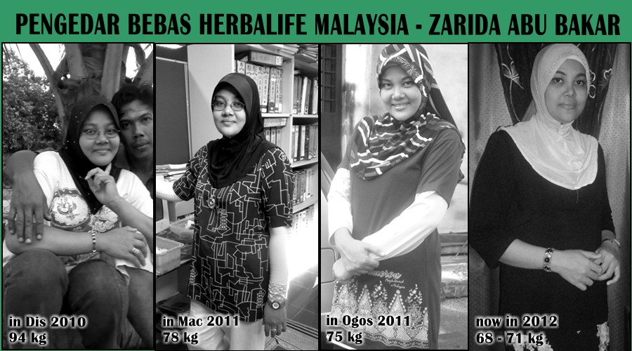 PENGEDAR BEBAS HERBALIFE MALAYSIA - Zarida Abu Bakar